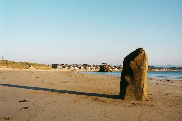 岩と砂と水